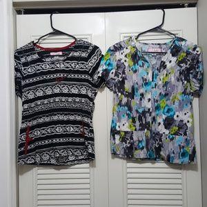 2 Koi Uniform Tops